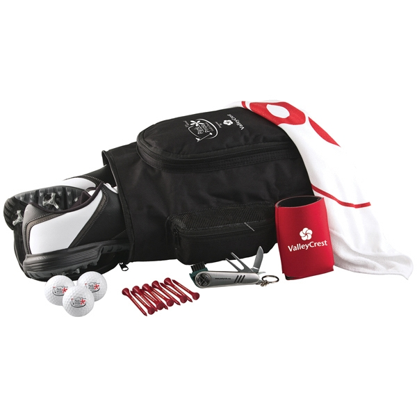 Deluxe Shoe Bag Kit w/ Pinnacle Rush Golf Balls