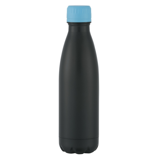 Matte Black Stainless Steel Vacuum Bottle