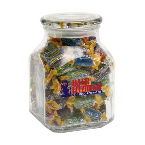 Jolly Ranchers in Large Glass Jar