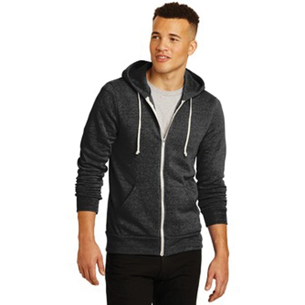 Alternative Rocky Eco-Fleece Zip Hoodie.