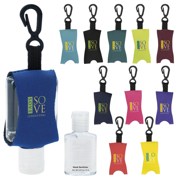 Hand Sanitizer with Leash - .5 oz.