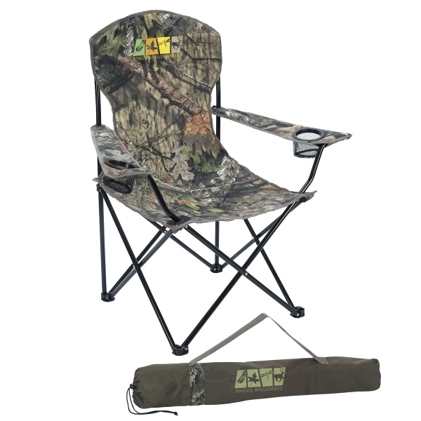 Mossy Oak (R) Captain's Chair
