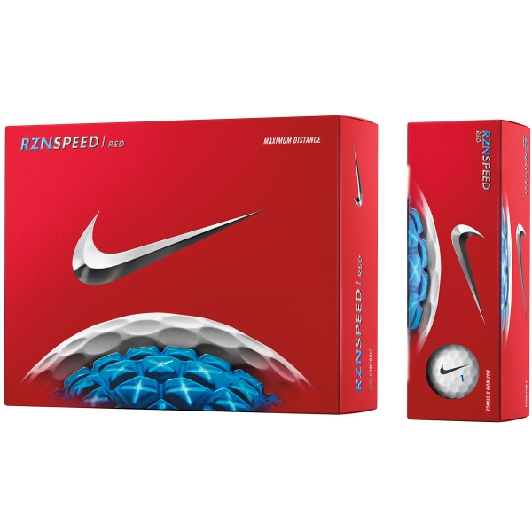 Nike (R) RZN Speed Red Std Serv Golf Balls