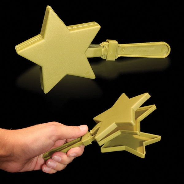 "7"" Star Hand Clapper"