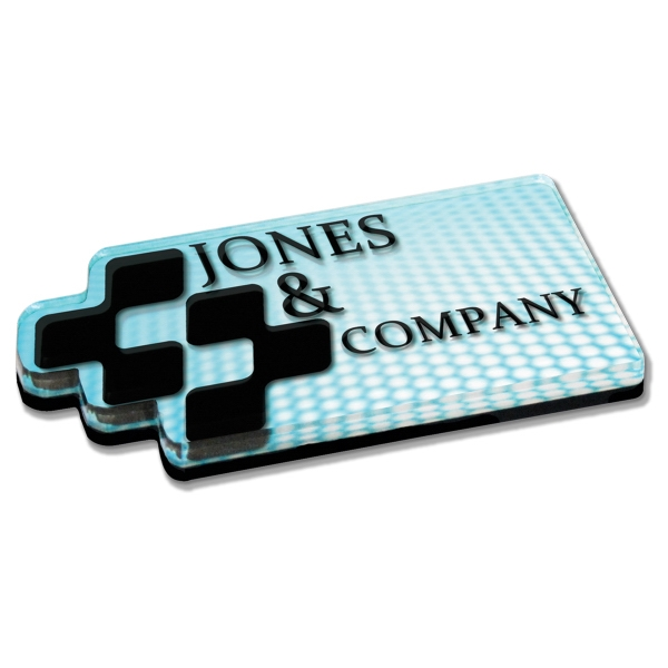 Custom Acrylic Paperweights (6 Square In