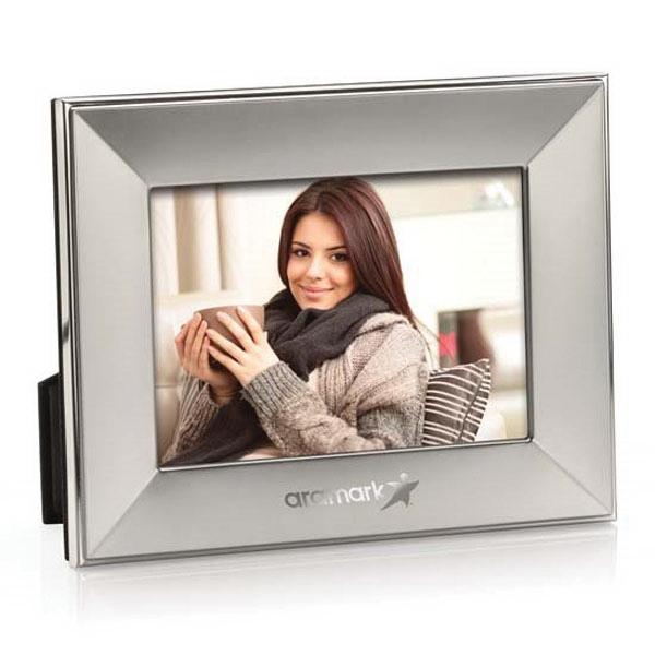"Tritan Frame - Satin Silver 5""x7"" Photo"