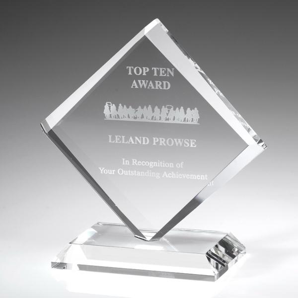 "Award-Diamond Award 6-3/8"""
