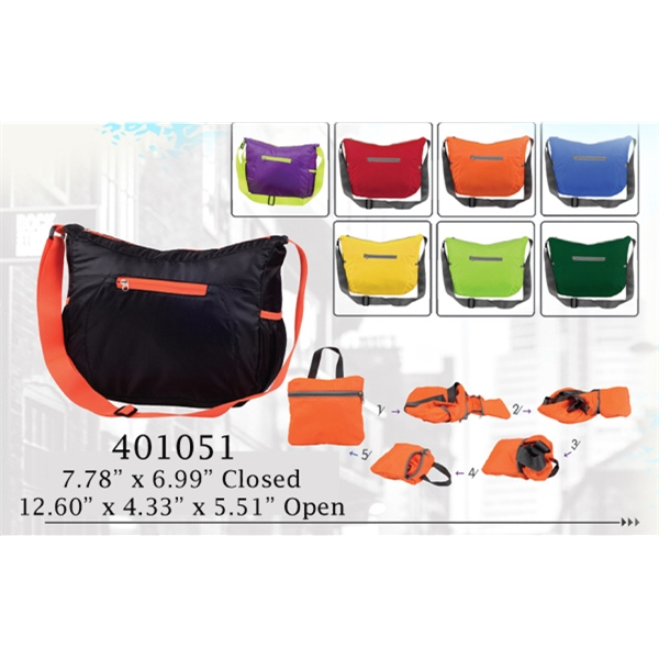 Compact Folding Messenger Shoulder Bags