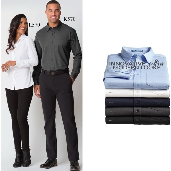 Port Authority® Ladies' Dimension Knit Dress Shirt