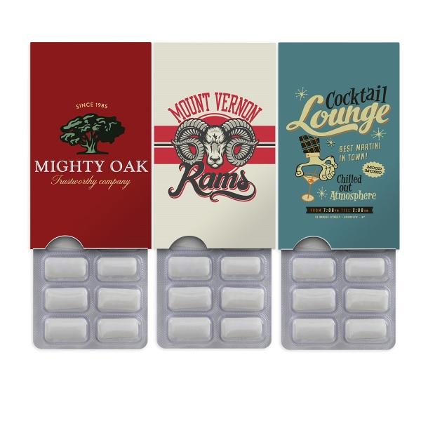 Slide Out Gum Pack
