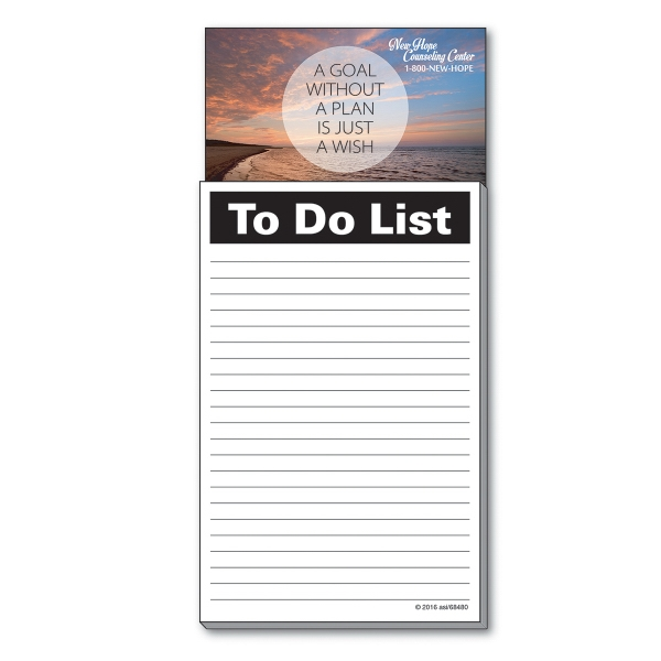 Business Card Add-On™ Magnet + To Do List Pad