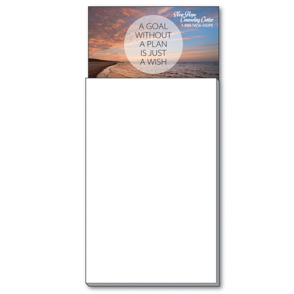 Business Card Add-On™ Magnet + Blank Pad