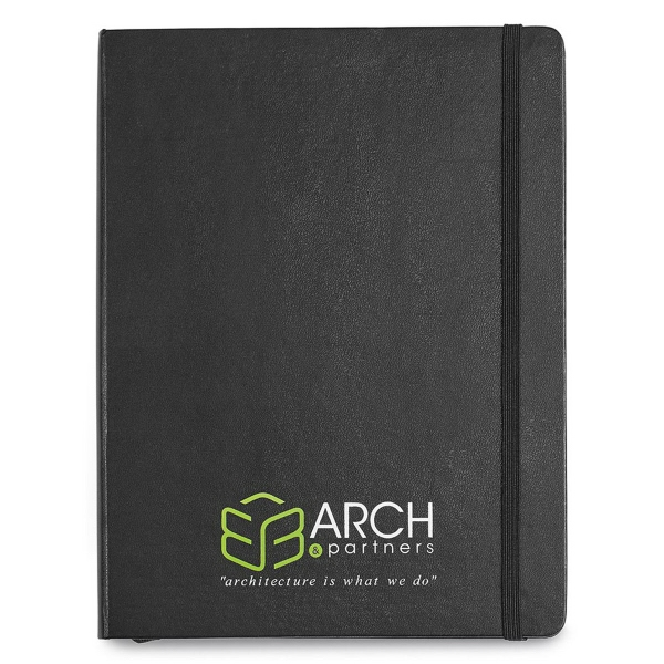 Moleskine® Hard Cover Ruled X-Large Notebook