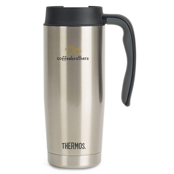 Thermos®® Stainless Steel Travel Mug - 16 oz.