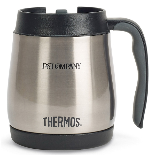 Thermos® Stainless Steel Desk Mug - 16 Oz.