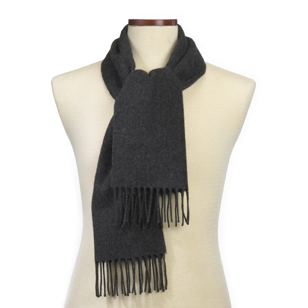 Charcoal Grey Soft As Cashmere Scarf