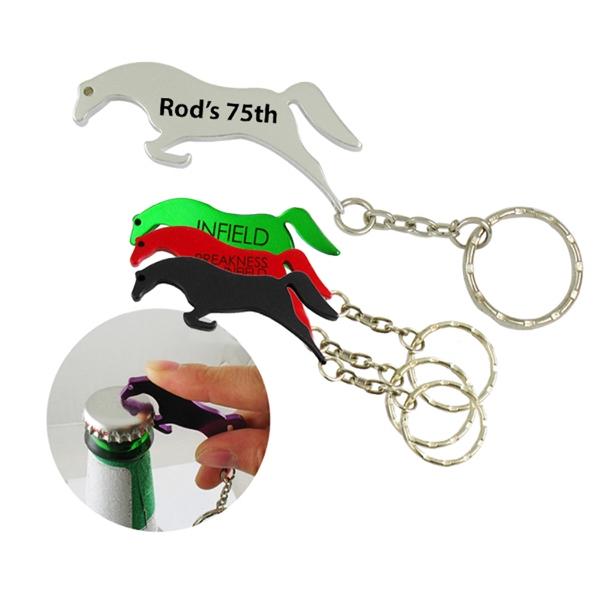 Horse Bottle Opener W/Key Ring