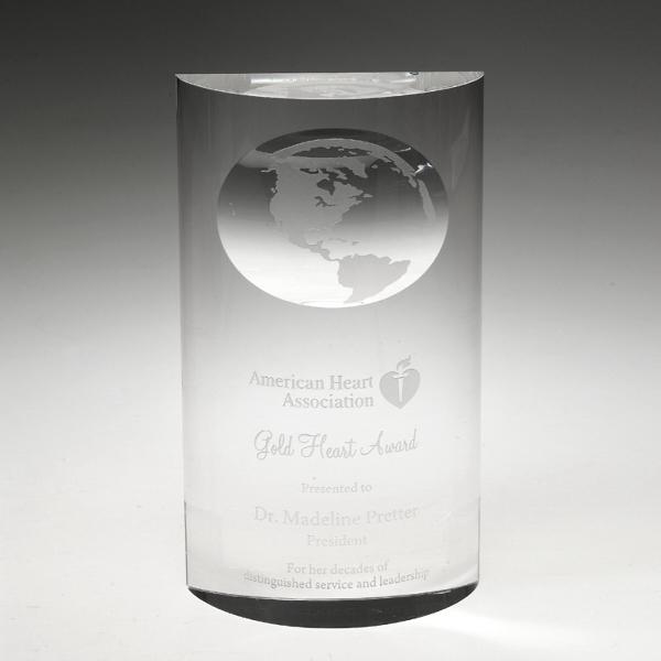 "Award-Mirage Globe 8"""