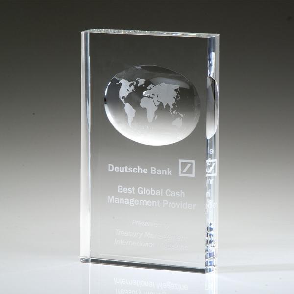 "Award-Illusion Globe 8"""