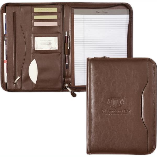 Deluxe Executive Vintage Leather Padfolio