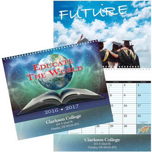 Educate The World Wall Calendar
