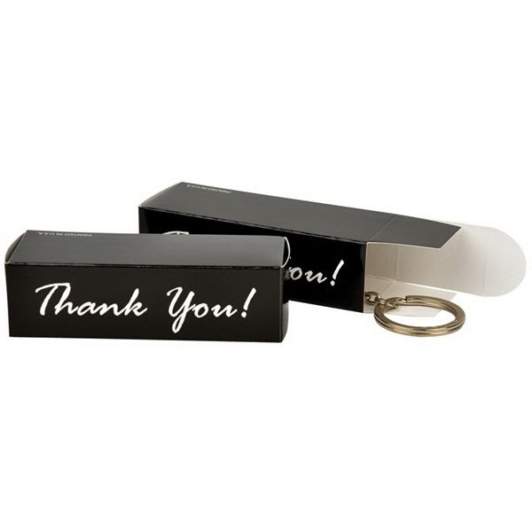 Accent Keychain Thank You Box