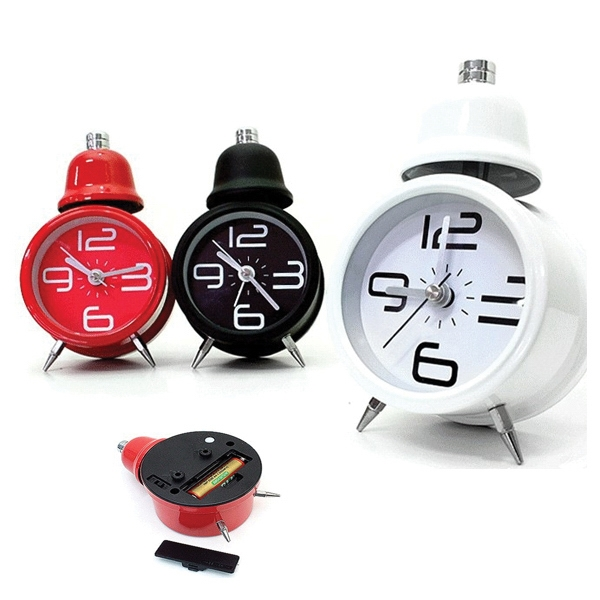 2.5 Inch Single Bell Alarm Clock