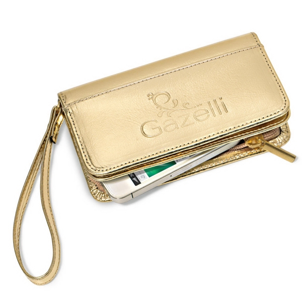 Lexi Leather Wristlet Wallet