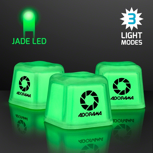 Hollywood Ice Green Glow Light Up Ice Cubes