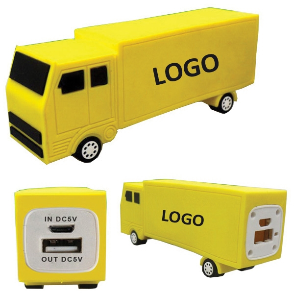 Truck-Shaped Power Bank