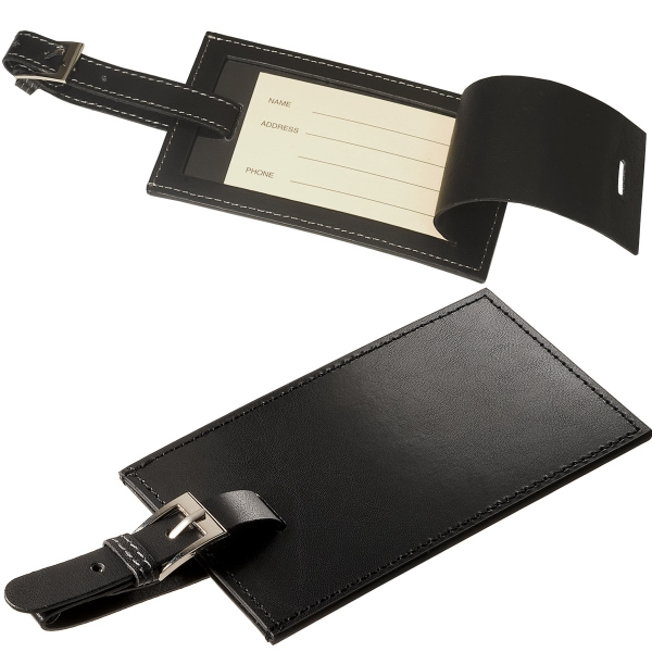 Leeman New York Whitney Rectangular Luggage Tag