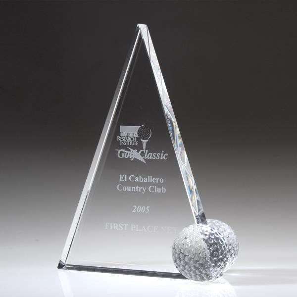 "Award-Peak Golf Trophy 10"""