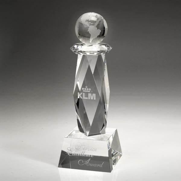 "Award-Ultimate Globe Trophy 20"""