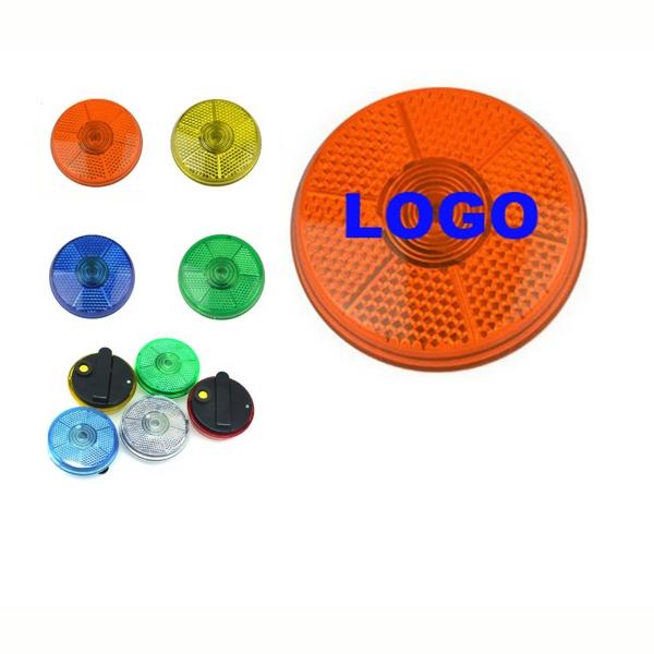 Round Flashing Safety Button/Strobe Light