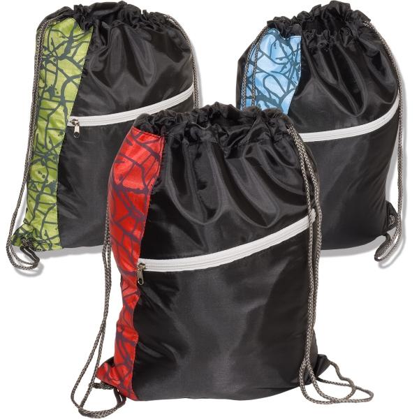 Designer String-A-Sling Backpack