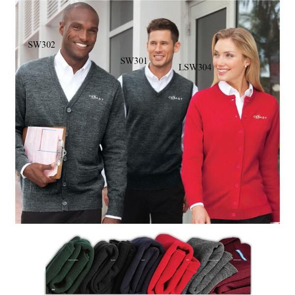 Port Authority® Value V-Neck Cardigan With Pockets