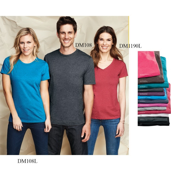 District Made® Ladies' Perfect Blend® Crew Tee
