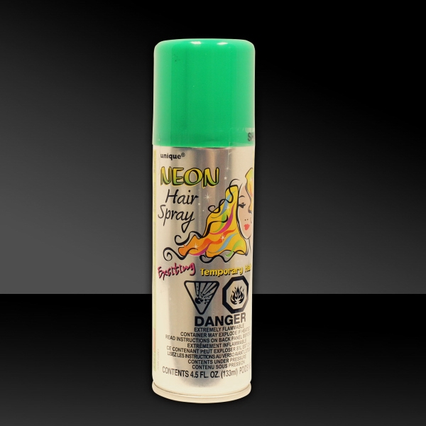 Green 3 oz. Hair Spray