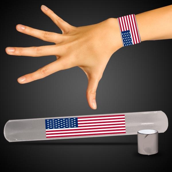 Patriotic Slap Bracelet