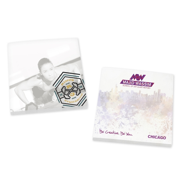 "BIC®Ecolutions®3"" x 3"" Adhesive Notepad"