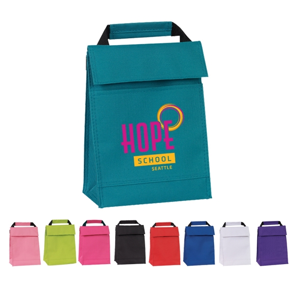 600D Polyester Lunch Bag.