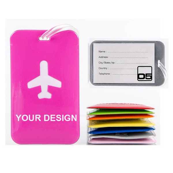 Soft PVC Traveling Luggage Tag