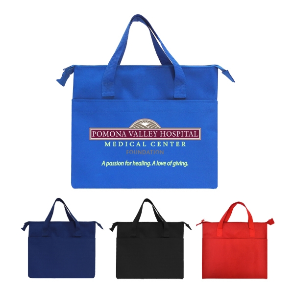 Flat Brief Style Tote