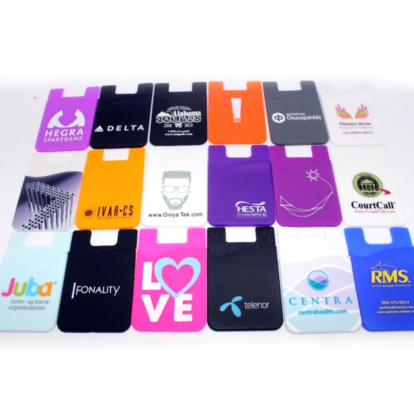 Silicone Phone Wallet / Sleeve
