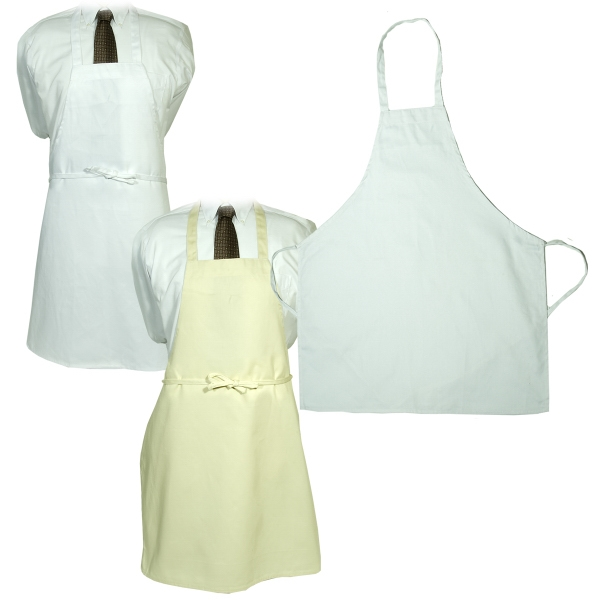 LogoTec Butcher Apron - Natural and White