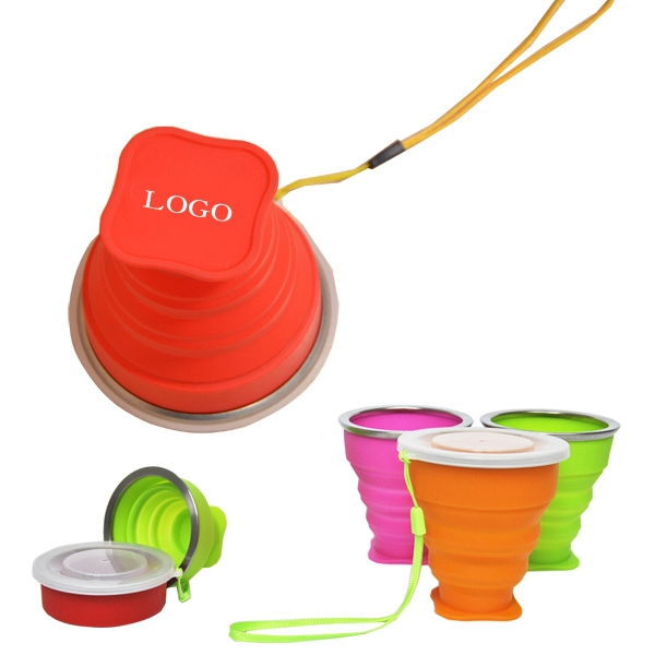 Collapsible Silicone Cup - 8 oz.