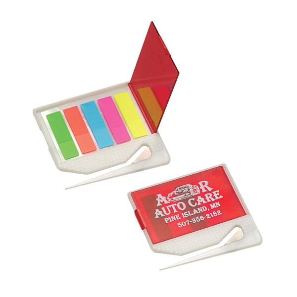 Clearance Item! Letter Opener With Sticky Notes Tabs