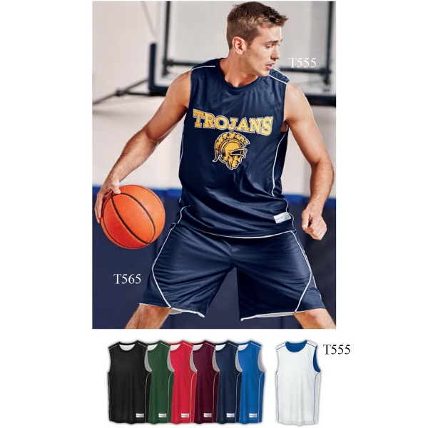 Sport-Tek® PosiCharge Mesh™ Reversible Sleeveless Tee