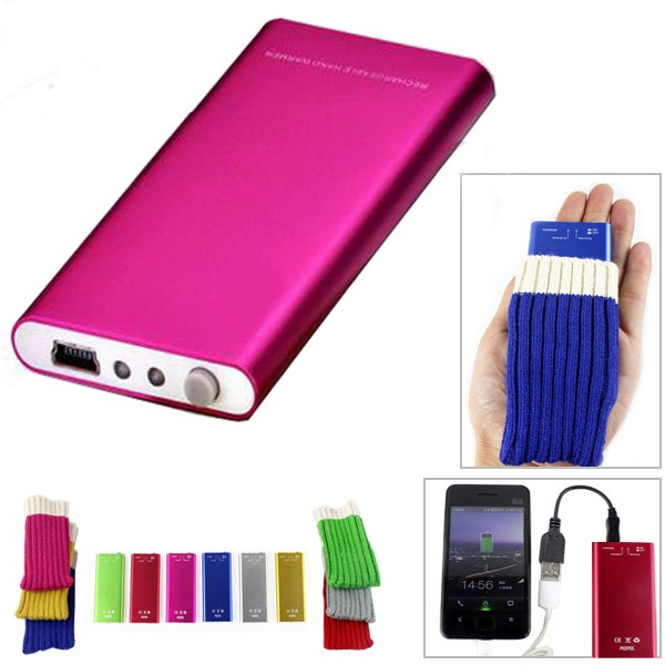 USB Hand Warmer Power Bank
