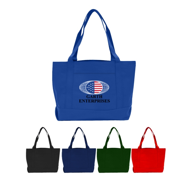 Solid Color Boat Tote